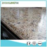 Il granito artificiale di superficie smerigliatrice copre di tegoli il tipo materiale del controsoffitto del Brown blu dello zaffiro