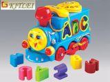Brinquedo inteligente do carro da alta qualidade plástica nova DIY do brinquedo do enigma 4D do projeto DIY