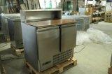 De Apparatuur Saladette van de keuken met Gekoelde kabinet-PS900