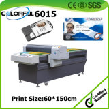 Flatbed Inkjet PVC Plastic ID Carte de visite Printer Machine Printer (colorful6015)