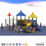 Kind-im Freienspielplatz-Plastikplättchen-Gerät für den heißen Verkauf
