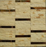 Mattonelle di pavimentazione di pietra naturali della prova dell'acqua della stanza da bagno (FYSM088)