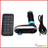 Fone de ouvido Bluetooth FM, Bluetooth Car MP3 Player Transmissor FM, rádio FM de bolso com Bluetooth