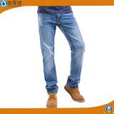 Кальсоны Jean джинсовой ткани джинсыов хлопка людей способа OEM он-лайн голубые