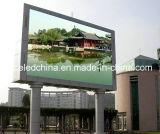 Pantalla de visualización de LED de la publicidad al aire libre P16