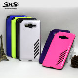 Shs modificó la caja durable dura híbrida del teléfono celular para requisitos particulares para el iPhone 5se 5s