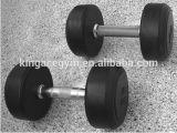 Se utiliza en interiores gimnasio Gym Equipment Equipo de comercio fijo de goma pesa de gimnasia