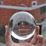 première bille en cristal en verre claire de sphère de 40mm 50mm 60mm avec la diverse taille