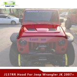 J157 07-16 Jeep Wrangler Jk Steel Black Rr Housse de protection