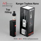 Kit Nano del dispositivo d'avviamento del MOD 60W di Kanger Topbox con il prezzo all'ingrosso