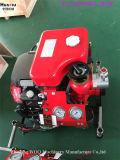 Pompe à incendie entraînée par moteur de Prming de pompe de vide de Honda de flux élevé