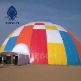 500d impermeabilizan la tela cubierta PVC inflable Tb095 del poliester