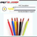 Alambre de cobre flexible Conductor H05V-R H05V-K H07V-K H07V-R H03VV-F Building