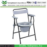 Стальной большой стул Commode с пробками ноги высоты регулируемыми