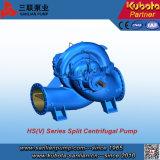 HS 유형 수평한 양쪽 흡입 원심 분리기 쪼개지는 케이싱 펌프 (HS150-125-315)