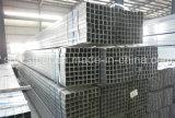 Tubo d'acciaio galvanizzato tuffato caldo quadrato (SS400, Q235, Q345)
