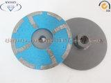 대리석 화강암 다이아몬드 통행세를 위한 수지에 의하여 채워지는 다이아몬드 컵 바퀴