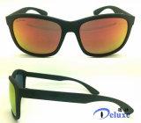 Gafas de sol plásticas polarizadas manera con insignia de encargo