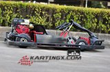 2016 4 el competir con barato vendedor caliente del motor de los asientos 200cc Lifan de la rueda dos va Kart para la venta