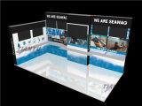 再使用可能なモジュラーアルミニウム展覧会の展示会装置