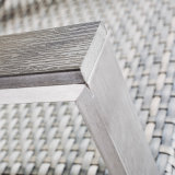 Daybed esterno del lato del raggruppamento della mobilia del buon di apparenza rattan dell'oggetto d'antiquariato