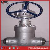 Soupape à vanne à haute pression de joint d'étanchéité d'acier de bas-de-ligne