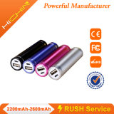 1500mAh 1800mAh Portable Power 은행 Charger