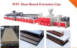 Ligne d'extrusion de planche de porte de plaque de porte de PVC WPC