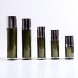 15ml / 30ml / 50ml / 100ml / 130ml botella del cilindro de acrílico verde Loción