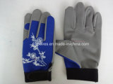 Mechanische de handschoen-Micro- handschoen-Leder het handschoen-Werk handschoen-Beschermde handschoen-Arbeid van de Vezel Handschoen