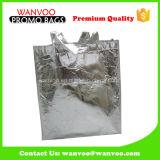 Il sacchetto non tessuto del tessuto dei pp con stagnola d'argento ha laminato