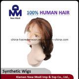 De populaire Synthetische Met de hand gemaakte Pruik van de Pruik van het Haar