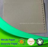 Cartulina lisa Anti-Encrespada color de marfil del espacio en blanco de la impresión