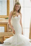 Alineada atractiva de la princesa boda de Tull de la novia de la sirena 2017, modificada para requisitos particulares