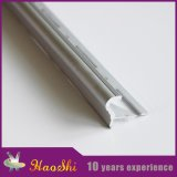 Ajuste de aluminio de la esquina del azulejo de suelo del perfil de la protuberancia