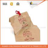 Sac de papier de empaquetage de cadeau de Noël fait sur commande professionnel/Noël