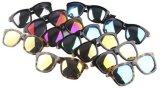 2016 Brand novo Hand - óculos de sol feitos de Acetate Design com Mirror Polarized Lens