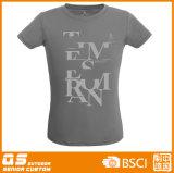 T-shirt seco rápido da forma das mulheres