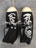 Heißer Verkaufs-verwendeten preiswerte auf lagermann-Schuhe Mann-Schuhe für Afrikaner (FCD-005)