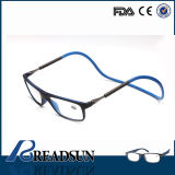 2016 Mais novo design Clic Rubber Soft Magnetic Reading Glasses Sp499005