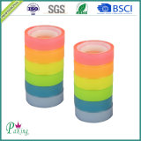 Nastro di plastica della cancelleria del Rainbow di memoria BOPP per il banco e l'ufficio