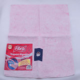 Stitch Bonded Nonwoven Pink Color 100% Cotton Floor Cleaning Cloth