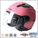 Motorfiets van het Gezicht van ECE de de Open/Helm van de Motor/van de Autoped met Dubbel Vizier (OP230)