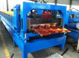 Плитки IBM Нигерия крен трапецоидальной стальной покрытый формируя машину