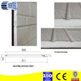 Ziegelstein-Prägung-Umhüllung-Wand PU-Sandwich-Panel