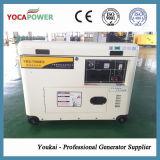 pequeño generador eléctrico insonoro del motor diesel 5.5kw con el AVR