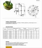 Motor de ventilador monofásico de vector del capo motor del rango de cocina del condensador de la eficacia alta