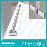 Acquazzone impermeabile di alluminio Door-Se707c di vetro Tempered della barra del hardware dell'acciaio inossidabile