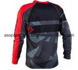Sublimazione personalizzabile Jersey di colore rosso per lo sport di corsa (MAT97)