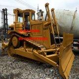 Bouteur hydraulique de tracteur du chat D7h de Nouveau-Bâtiment avec le ripper/lame (avant-lame-bouteur)